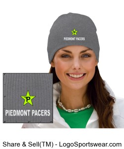 Pacers Heavyweight Custom Knit Cap Design Zoom